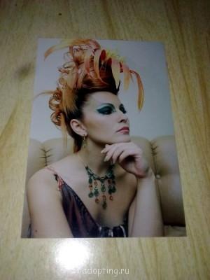 Это образ Саламандры огонь и холод Окраска волос, прическа, постижи, макияж, костюм - в общем, образ полностью разработан и воплощен собственно ручно - Фото1210.jpg